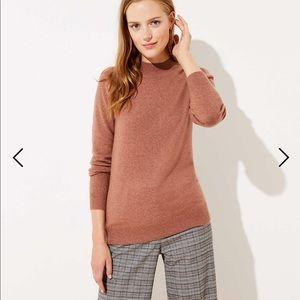*NWT* Loft Mock Neck Sweater